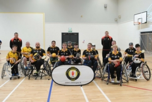 Tyrone Wheelchair Hurlers in the running for National Lottery 25th Birthday Awards